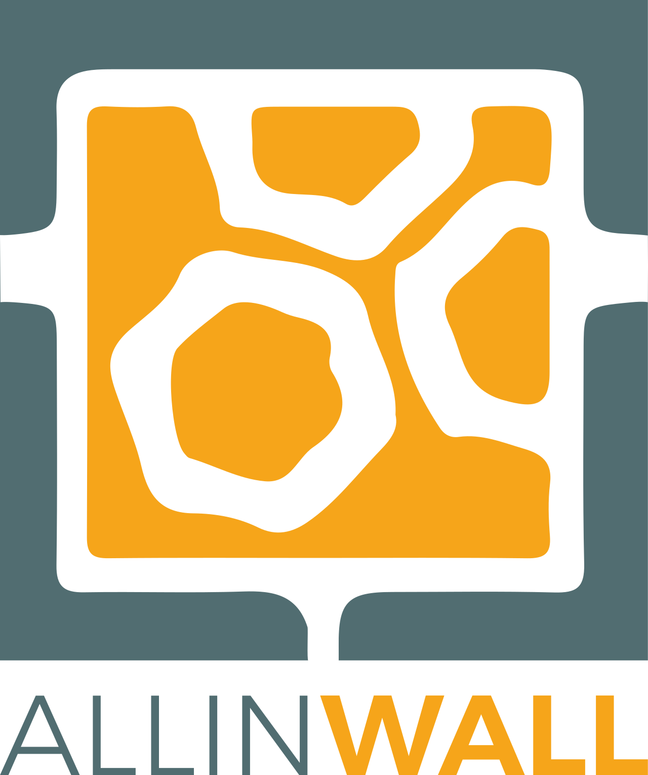 allinwall logo box dark